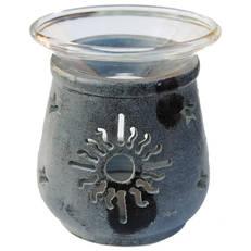 Aromalampa, motiv Solsymbol & Stjärnor, 9 cm