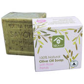 Naturlig Badtvål, olivolja & rosenblad, BIOesti 200 gr