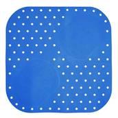Halkskyddsmatta blå, dusch, 54x54 cm