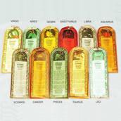 Rökelse Zodiac, 12 paket med olika dofter, sänkt pris.