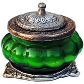 """Doftljus i handgjord behållare, """"Kamasutra"""""""